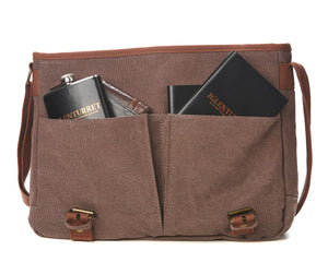 The Glenturret Canvas Messenger Bag