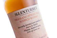 Load image into Gallery viewer, Personalised Glenturret 10 Years Old 40% ABV
