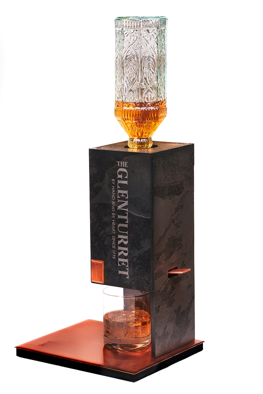 The Glenturret Adonis Gold Decanter