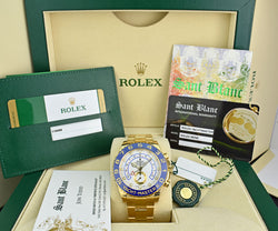 ROLEX - 2019 44mm 18kt Gold YachtMaster II 116688