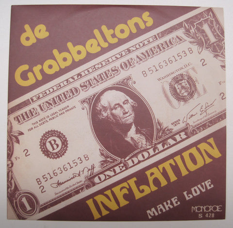 "DE GRABBELTONS Inflation / Make Love 7"" REISSUE"