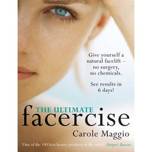 Load image into Gallery viewer, Ultimate Facercise | Book by Carole Maggio