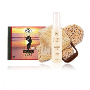 No Lipo Lipo DVD [PAL*] & Sisal Louffas + NOURISHING E OIL
