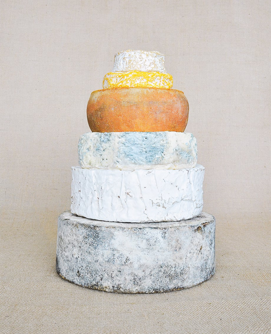 DIY Cheese Tower No.5