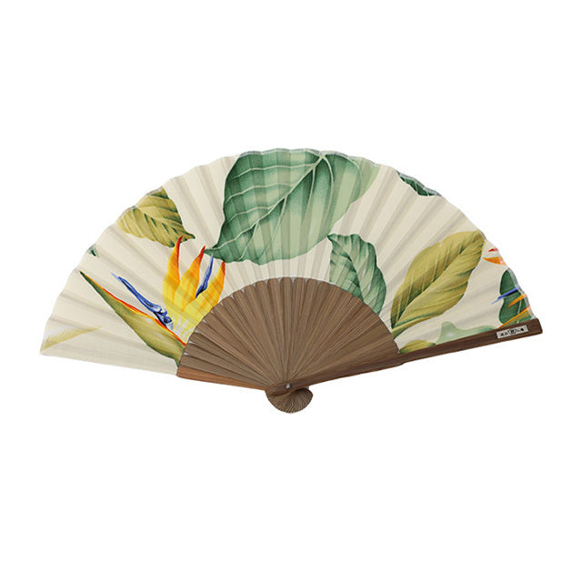 Nishikawa Shouroku Sensu: Hawaii Fabric (White)