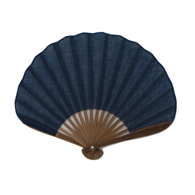 Nishikawa Shouroku Sensu: Shell (Navy)