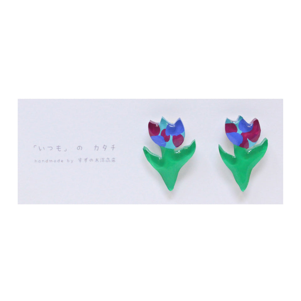 Suzunoki Youhinten Tulip Earrings