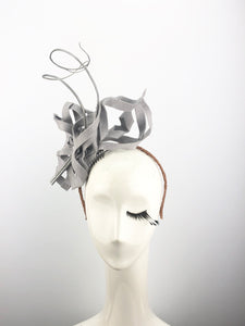 Grey Felt Snowflake Headpiece
