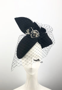 Black Lady Headpiece