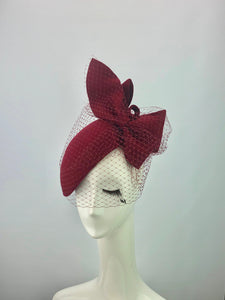 Claret Lady Headpiece
