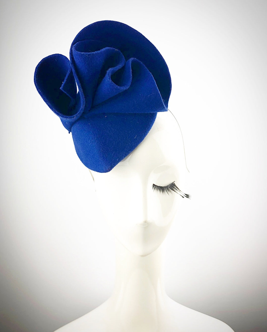 Blue Heart Felt Headpiece