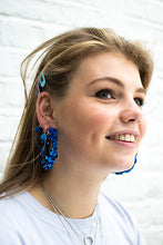 Load image into Gallery viewer, Sequin Wrap Hoops