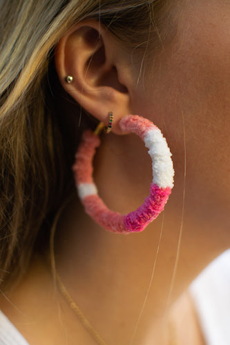 Candy Wrap Hoops