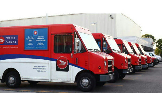 Canada Post Workers on Strike