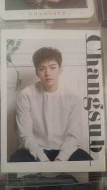 Official Photocard - BTOB (Changsub) Dear Bride
