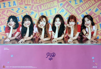 POSTER - Apink Mini Album Vol. 6 - Pink Up (A)
