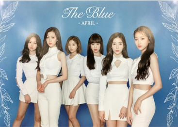 POSTER - April Mini Album Vol. 5 - The Blue