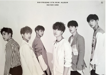POSTER - Boyfriend Mini Album Vol. 5 - Never End (Day Version)