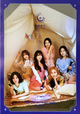 POSTER - GFRIEND Mini Album Vol. 6 - Time For The Moon Night (Night Ver)