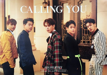 POSTER - Highlight (Beast) Mini Album Vol. 1 Repackage - Calling You (A)