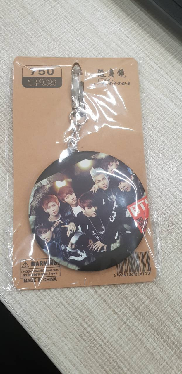 Unofficial BTS Pocket Mirror