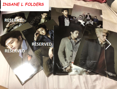 FOLDER - BTOB INSANE L-Shape Folder