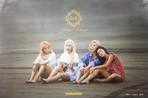 POSTER - Mamamoo Mini Album Vol. 6 - YELLOW FLOWER (B)