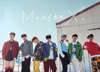 POSTER - Monsta X Album Vol. 1 - Shine Forever (Repackage) (A)