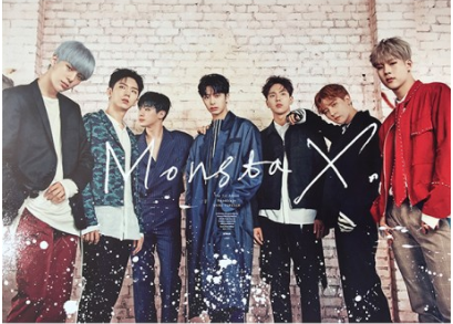 POSTER - Monsta X Album Vol. 1 - Shine Forever (Repackage) (B)