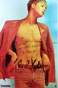 POSTER - Taemin (SHINee) Album Vol.2 - Move (A)