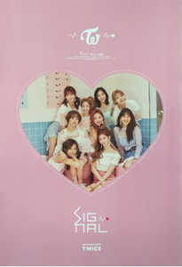POSTER - Twice Mini Album Vol. 4 - Signal (B)