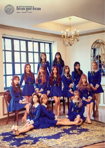 POSTER - WJSN (Cosmic Girls) Mini Album Vol. 4 - Dream Your Dream (Silver Ver)