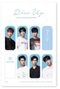 Bookmark - ASTRO PHOTO EXHIBITION OFFICIAL GOODS