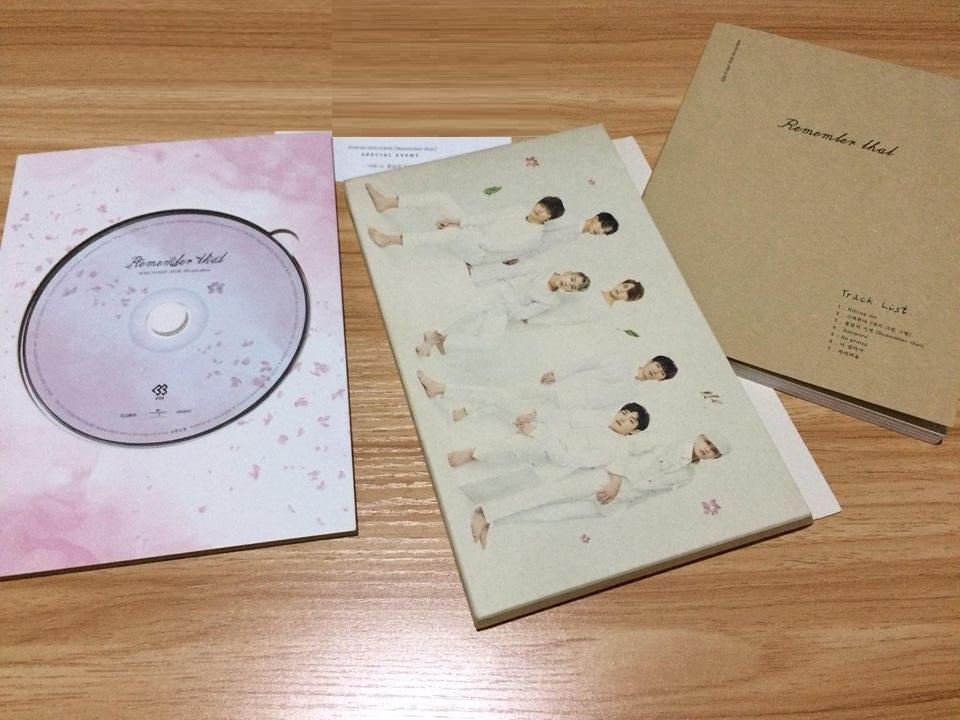 Unsealed BTOB's 8th Mini Album Remember That