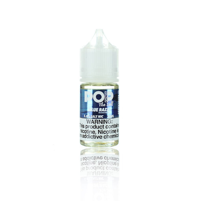 Pop Clouds The Salt Blue Razz 30ml Nic Salt Vape Juice