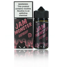 Load image into Gallery viewer, Jam Monster Limited Edition Raspberry 100ml Vape Juice