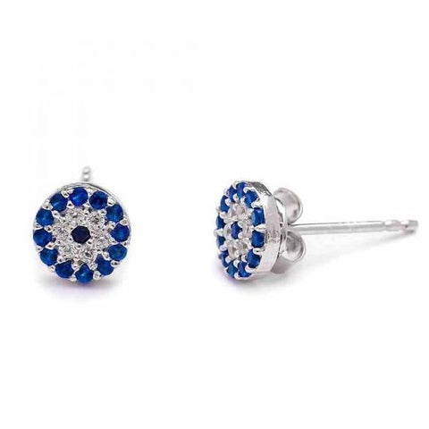 Evil Eye Stud Earring - -