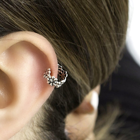 Ear Cuffs Sterling Silver