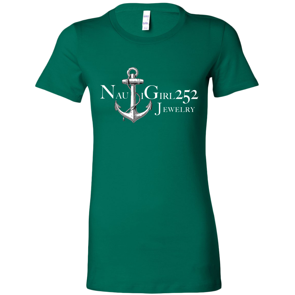 NautiGirl252Jewelry™ Logo Tee Shirt - Nautigirl252 Jewelry Cork Co.