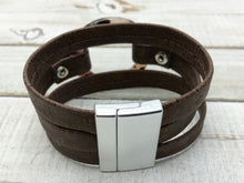 Load image into Gallery viewer, Beautiful Unique Genuine Portuguese Cork Jewelry designed and handmade on the Outer Banks of North Carolina - Nautigirl252jewelry vegan leather alternative sustainable fashion animal free