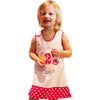 Dana Kids Birthday Girl #2 Cupcake Balloons Reversible Dress 2T