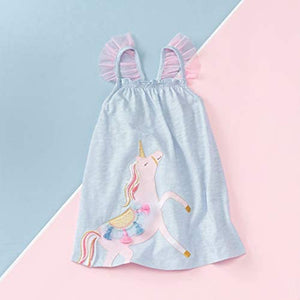 Mud Pie Baby Girls' Unicorn Dress