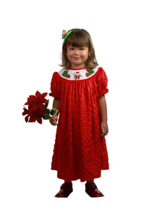 Dana Kids Christmas Holiday Santa Gifts Bishop Dress Szie 12 Months-10 Years