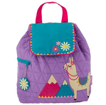 Stephen Joseph Quilted Backpacks, Llama