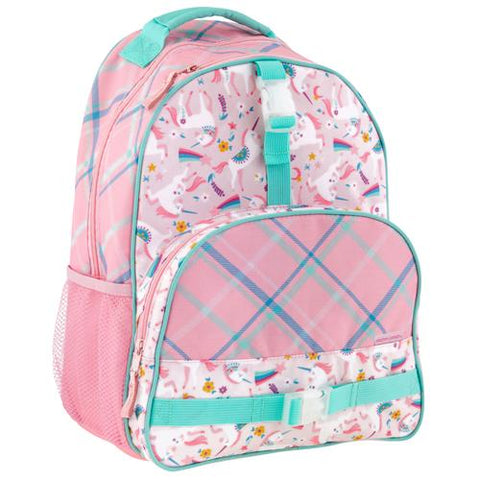 Stephen Josept All Over print Kid School Backpack, Unicorn