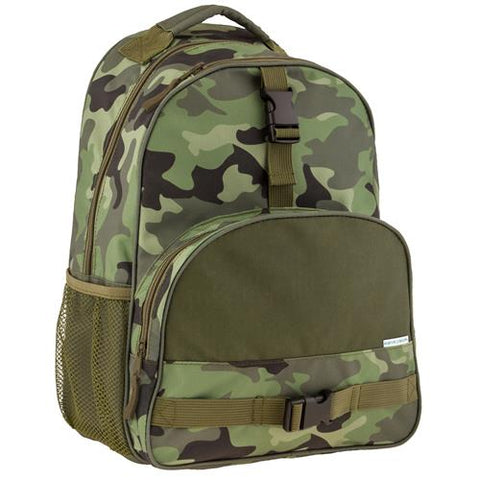 Stephen Josept Boys All Over print Kid School Backpack, Camo