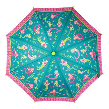 Stephen Joseph All Over Print Umbrella, Mermaid