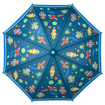 Stephen Joseph All Over Print Umbrella, Robot