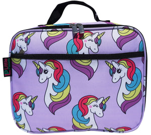 Little Planets Girls All Over Print Kid School Lunch Box (Unicorn)