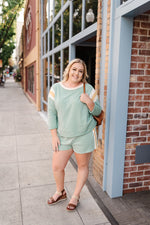 Sport A Mint Top - Kasey Leigh Boutique